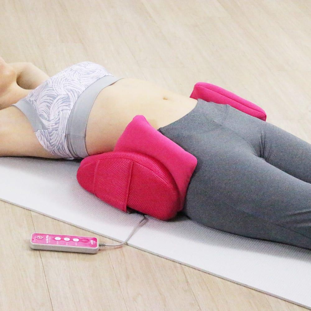 エアプリエ スイートプレミアム リラックスして寝るだけ!美ボディと美姿勢の要「ストレッチ」が自動でできる!背面のエアーがふくらんで、背中や腰がグーンと押し上げられ、心地良くストレッチ。