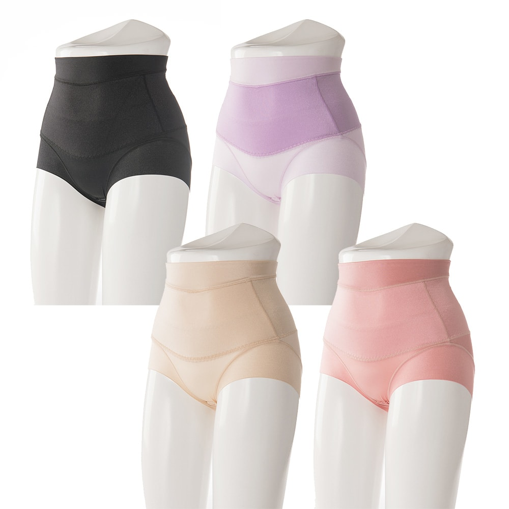 骨盤らくしめビューティショーツ ダブルサポート 骨盤ベルトを一体化した人気ショーツのシリーズ!穿くだけ即着やせ、着用し続けることで実際にスリムを目指します。