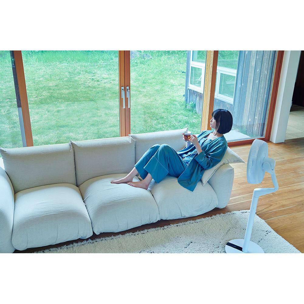 デュクス ブレードファン パワフルな風を窓に向けて送れば空気循環を促し、効率よく換気できます。