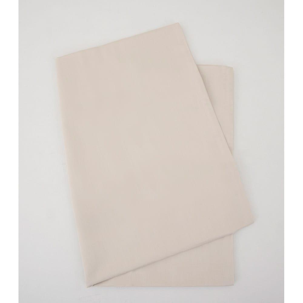 抗ウイルス加工枕カバー(リラックスフィット枕対応) (ア)ベージュ