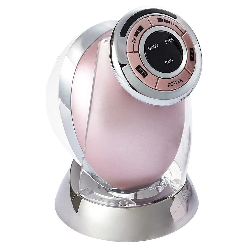 家庭用キャビテーションマシン「キャビスパRFコア」 エステの「キャビテーション」を家庭用に応用したシェイプマシン。ボディだけでなく顔にも使えます※フェイスモードにはキャビテーションはありません (ア)ピンク