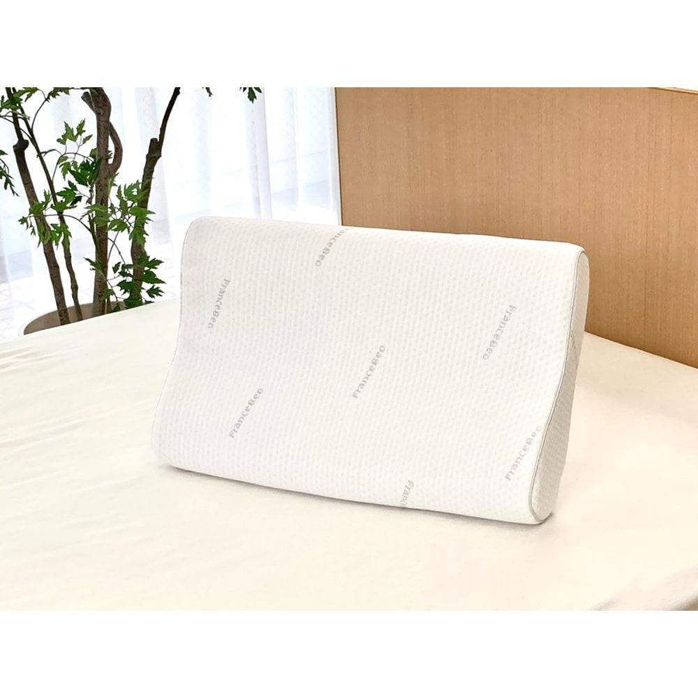フランスベッド マカロンピロー ロイヤル 専用枕カバー ハイタイプ 【通販】