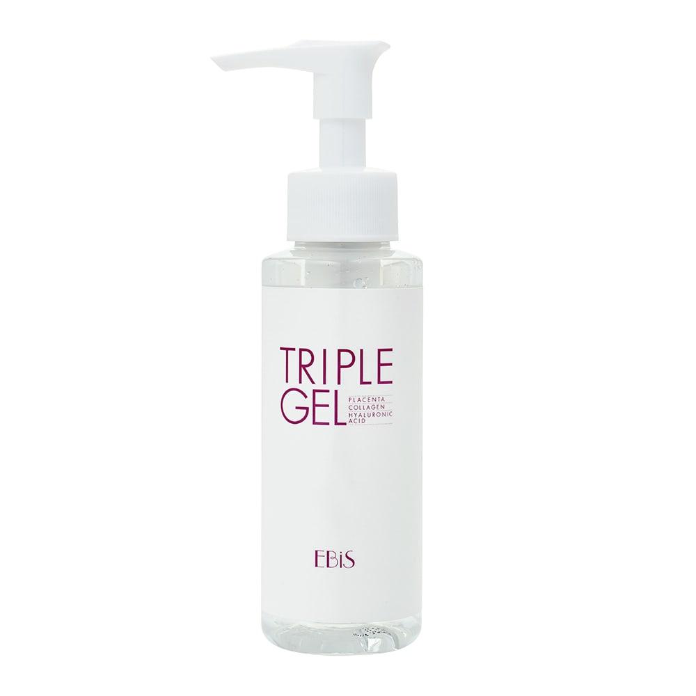 ツインエレナイザープレミアム 番組特別セット トリプルジェル(105g)保湿効果のある、馬プラセンタ・加水分解コラーゲン・ヒアルロン酸を配合したトリートメントジェル。