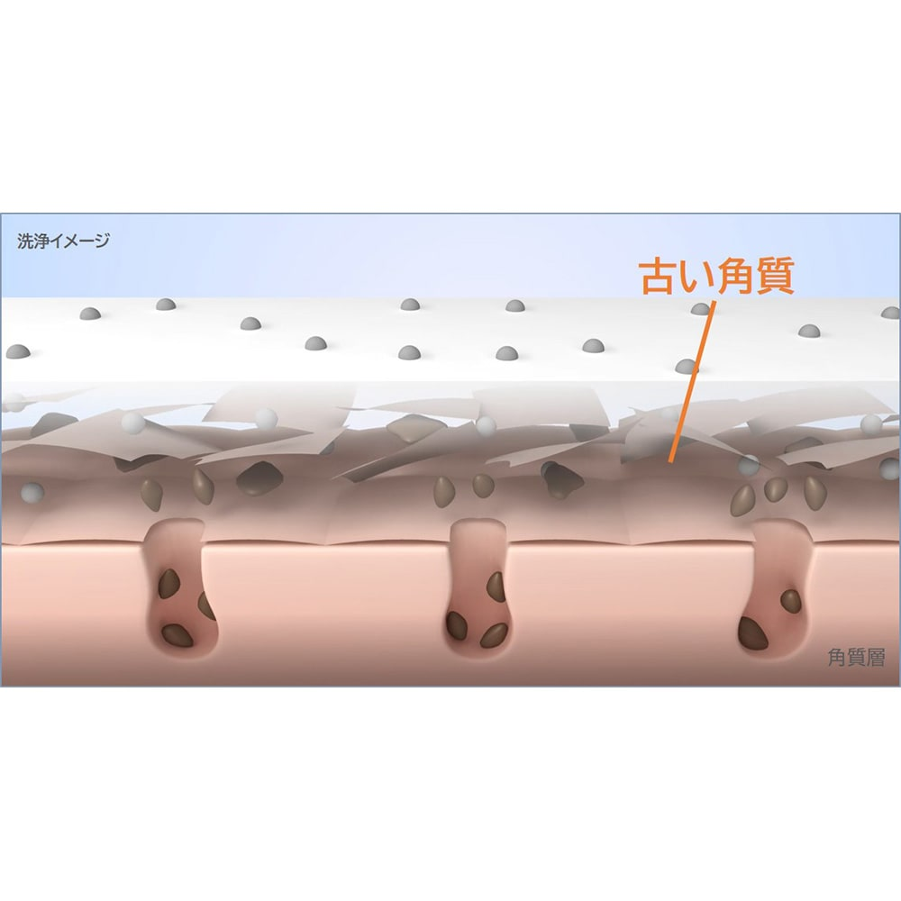 TBC ディープクリアウォッシュ 泡立てずクリーム状のまま15秒パック!ミネラルクレイが蓄積した古い角質を浮き上がらせ、汚れを吸着