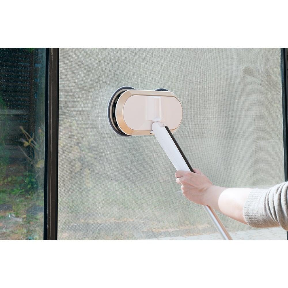 コードレス回転モップクリーナーNeo プレミアムセット(パッド計6枚) 網戸の掃除に!1台あれば、家じゅうキレイに!