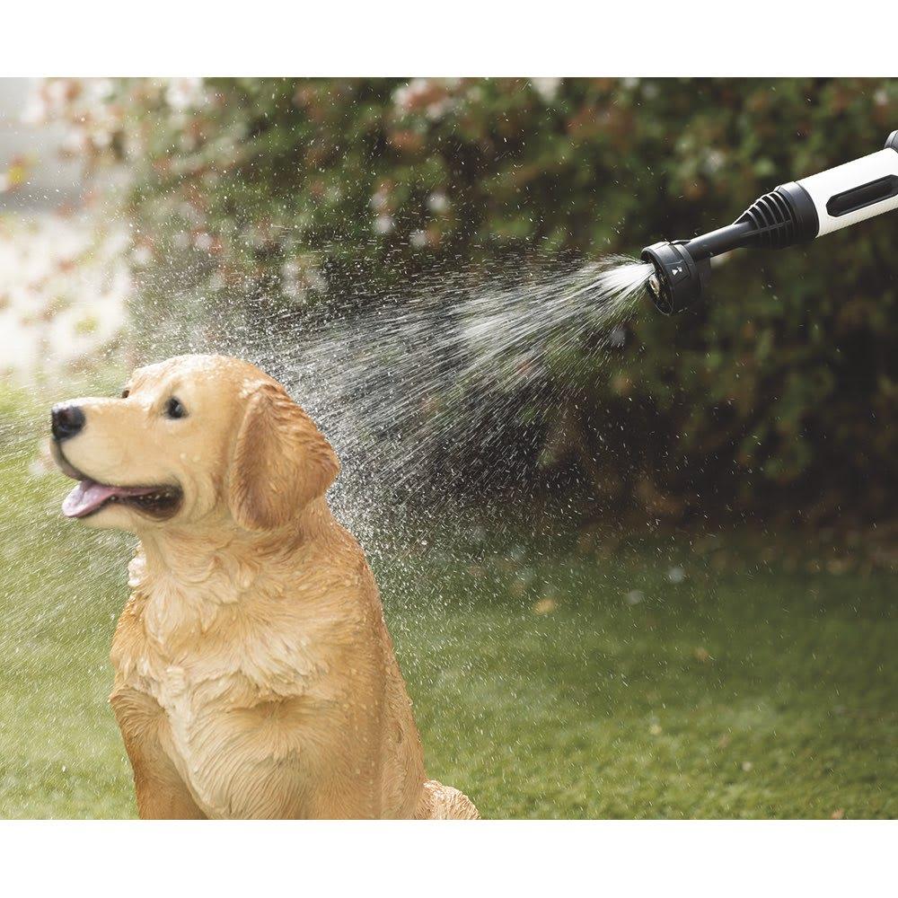 ビューティテック コードレス高圧洗浄機 【こんな場所で活躍!】ペットのシャワーに。