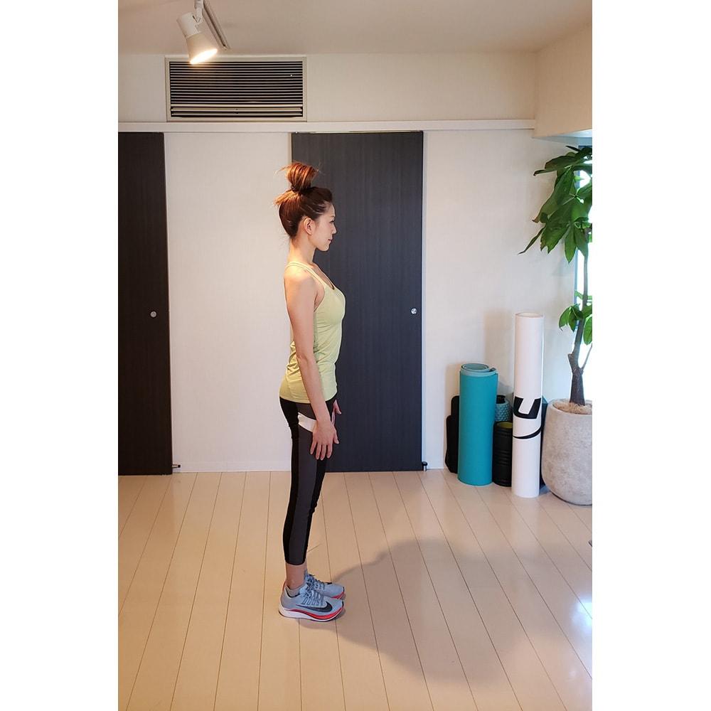 エアリーツイストボディ Karin Suzuki(カリン スズキ)トレーナーの骨盤が立った美姿勢 姿勢でメリハリが生まれます