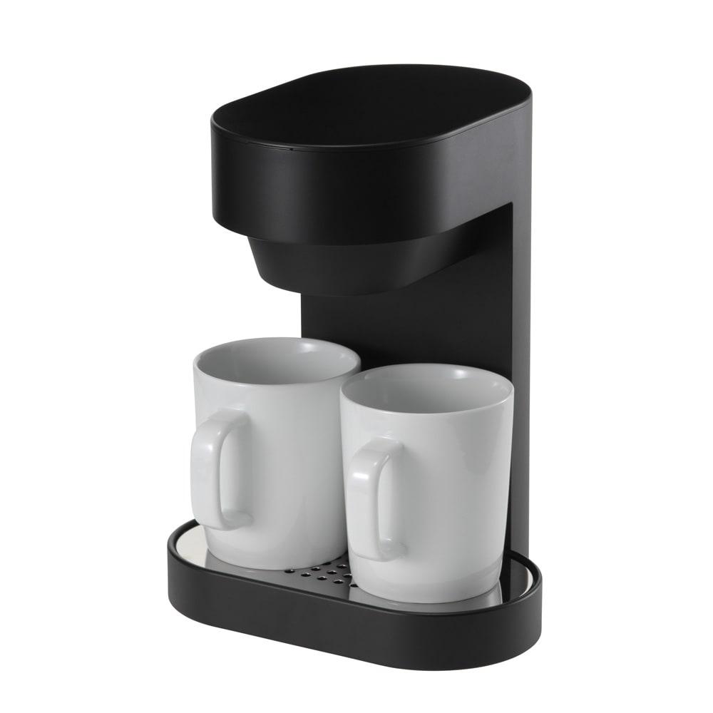 ±0/プラスマイナスゼロ コーヒーメ-カー 2カップ マグカップ2個付き