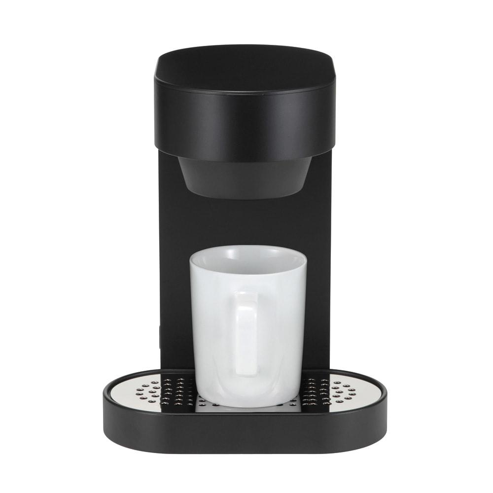±0/プラスマイナスゼロ コーヒーメ-カー 2カップ シャワーノズル採用、活性炭浄水フィルター付き。
