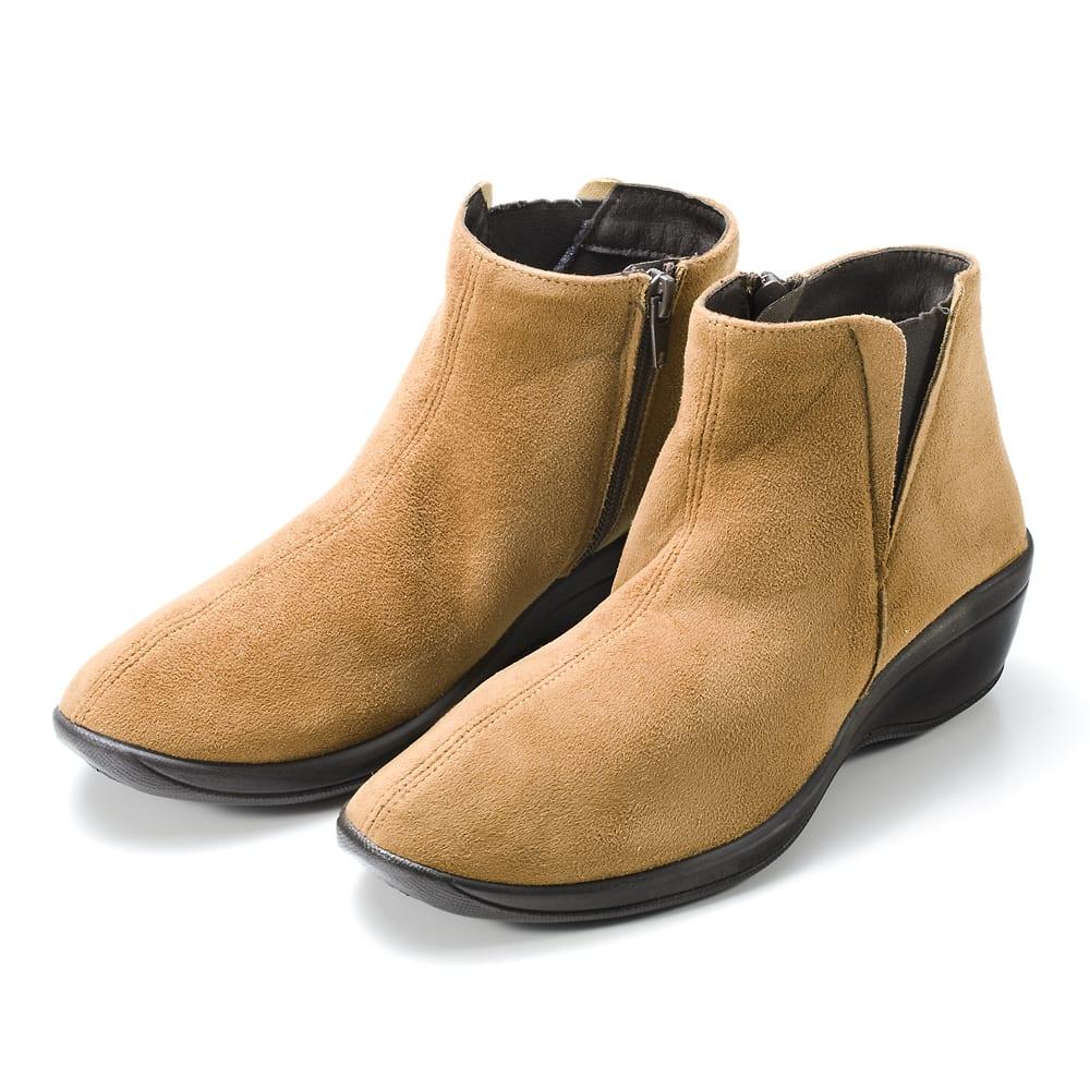 ARCOPEDICO/アルコペディコ ショートブーツ キャメル…ブラウン系が流行の今シーズン、便利に使えるキャメル。ディノスだけの限定カラーです。