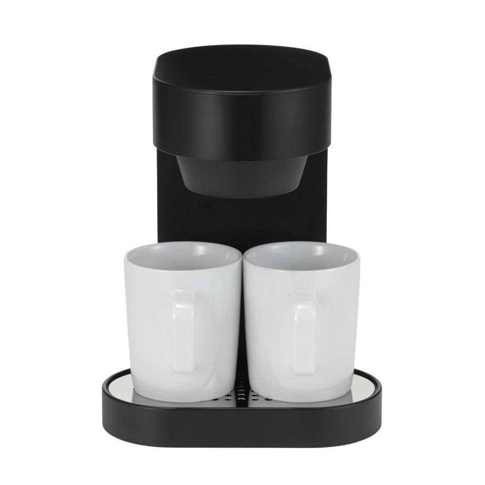 ±0/プラスマイナスゼロ コーヒーメ-カー 2カップ 1、2杯のコーヒーを手軽に作れるコンパクトなコーヒーメーカーです。