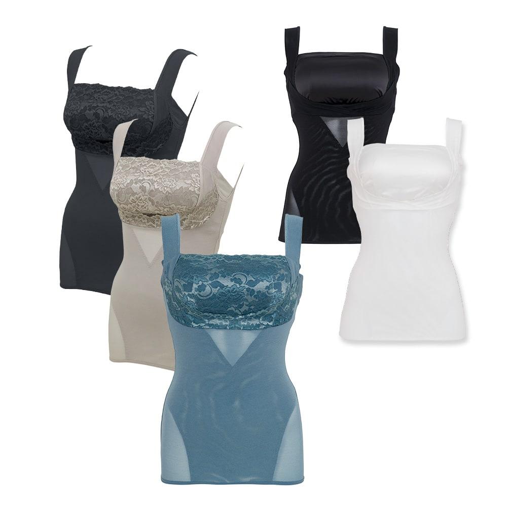 BRADELIS NewYork/ブラデリスニューヨーク バストアップシェイパーブラキャミ 着ることで即・メリハリボディが手に入る補整力はそのままに、下着感を感じさせない美しいルックスにリニューアル!シンプルな「サテンタイプ」は一層、補整感が少ない!