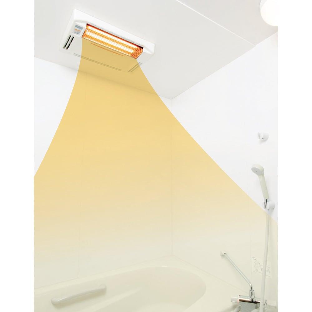 浴室換気乾燥暖房機(標準取り付け工事付き) 寒~い冬の浴室を素早く暖めてヒートショック対策!