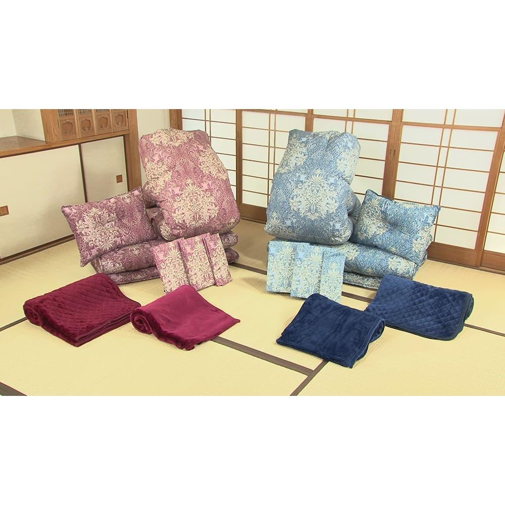 西川の特選寝具 シングルセット(6点+特典2点付き) 「届いてすぐ使える」フルセットをお届け!他に何も買い足す必要はありません。