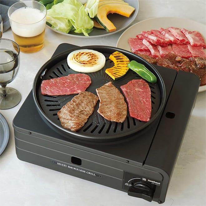 テレビ放送商品 調理 食器 Iwatani/イワタニ マルチスモークレスグリル AR1860