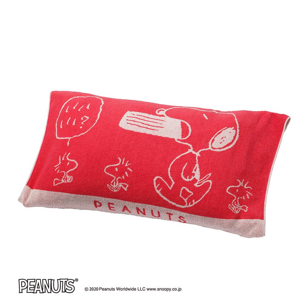 スヌーピー タオルケット&枕カバー お得な2色セット ピローケース