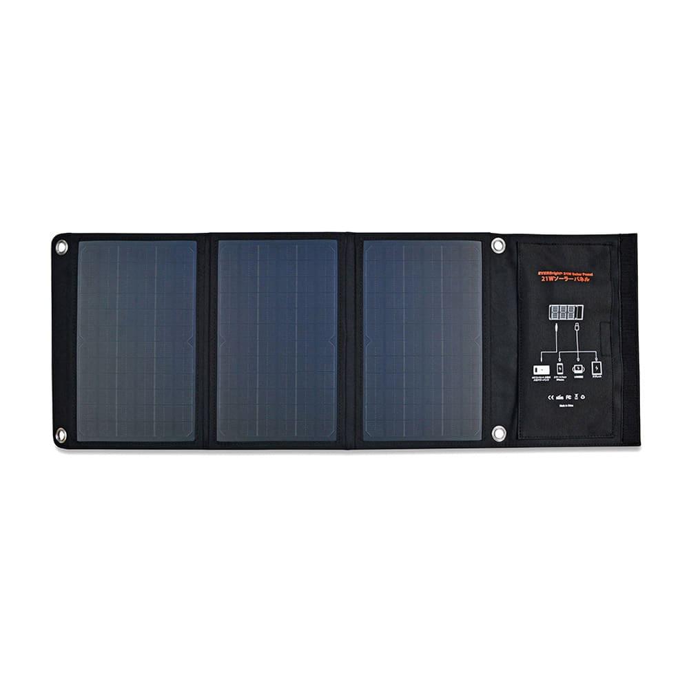 メガパワーバンク・ソーラーパネルセット 非常時には太陽光で給電できるソーラーパネル