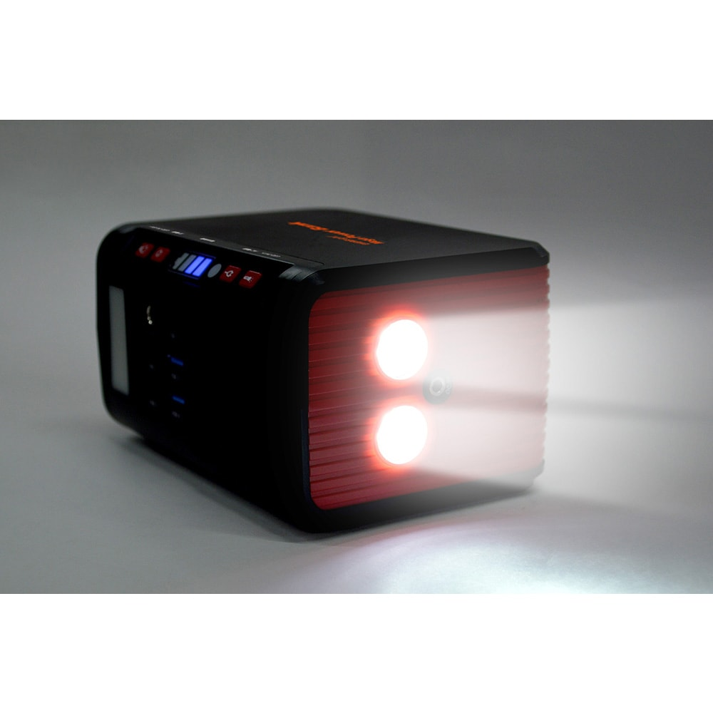 EVERBright/エバーブライト メガパワーバンク 遠くまで届く2灯式LED。点滅、早い点滅にすることも可能