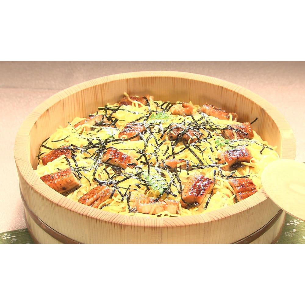 国産うなぎ ワケあり 60g×10食セット 【調理例】ちらし寿司 ※約120g分(2食)のうなぎを盛り付けています。