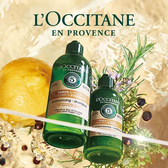 L'OCCITANE・ロクシタン ヘアケア