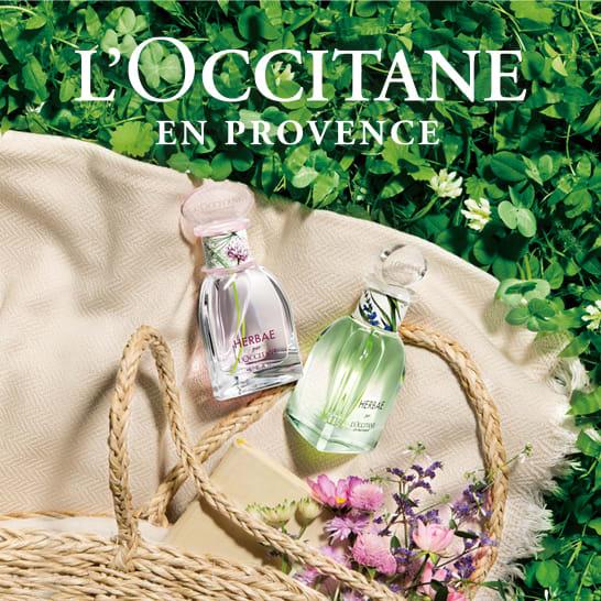 L'OCCITANE・ロクシタン エルバブランシュ