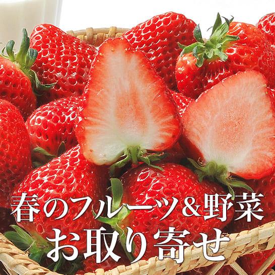 春のフルーツ・野菜のお取り寄せ