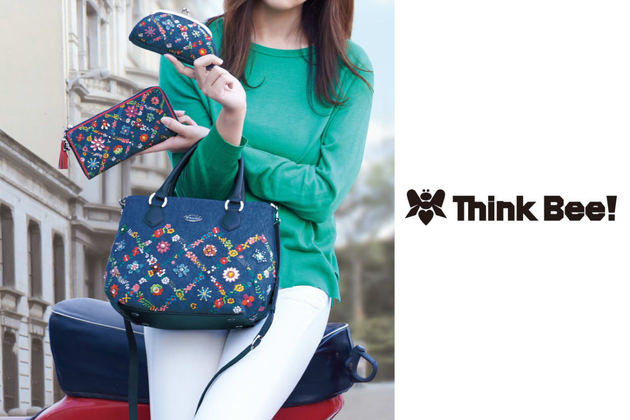 Think Bee! 新作バッグ&財布