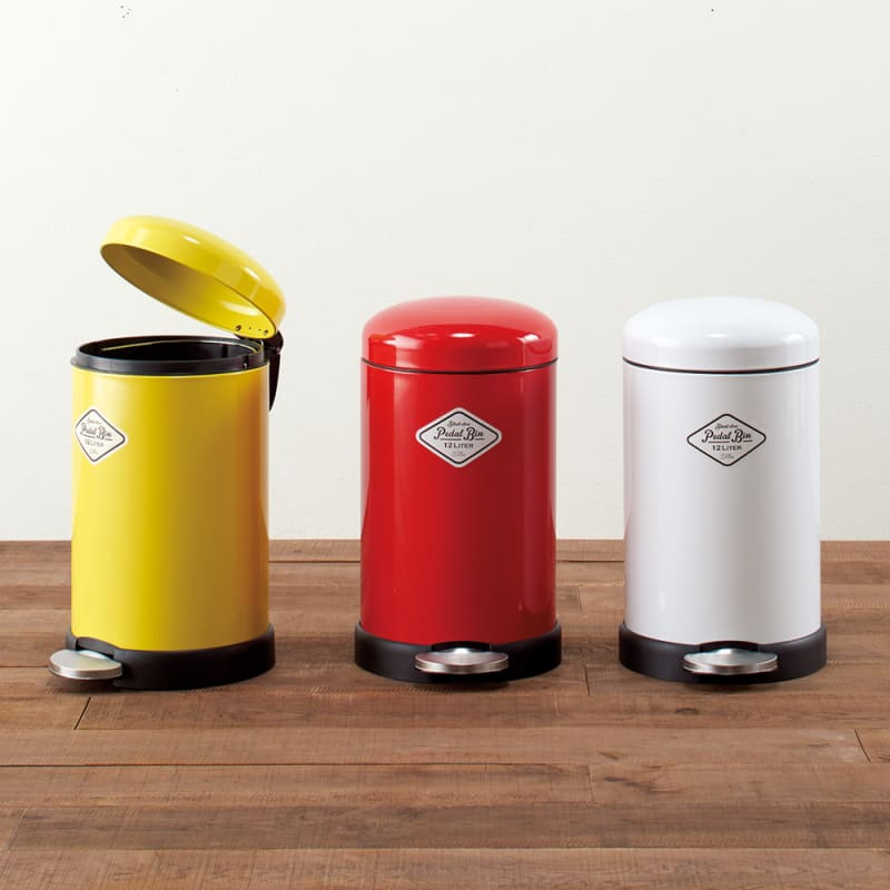 ペダル式のゴミ箱