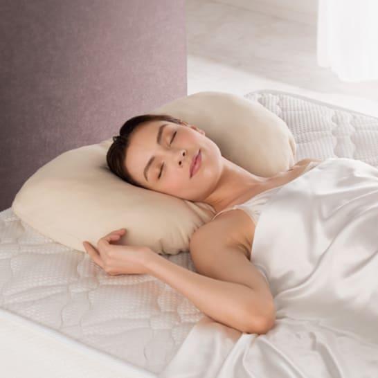 ブレスエアー® 3Dフィット枕 枕カバー付き<br />9,698円