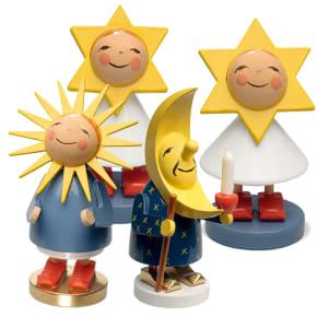 ▼WENDT&KUHN社製 小さな木製人形たち