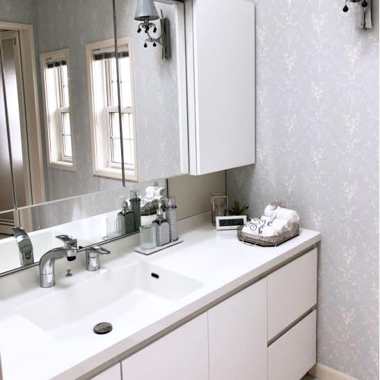 朝の支度が時短になる!家族みんなが使いやすくなる洗面台の収納