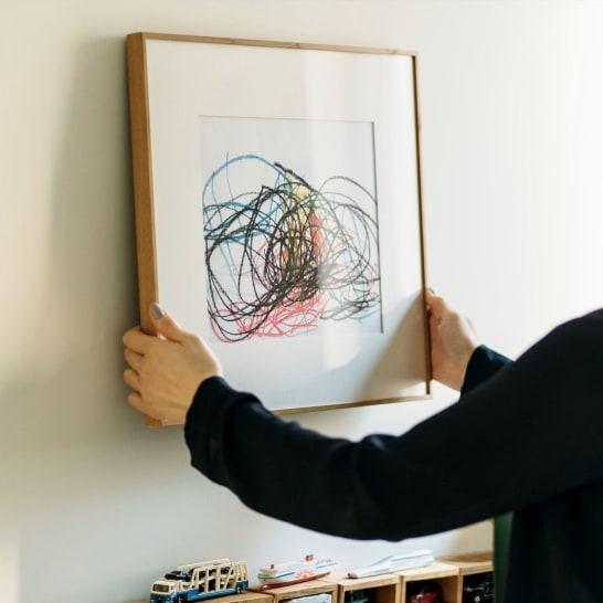 """アートでセンスが一気にアップ!""""絵画""""から""""子供が書いた絵""""までおしゃれに取り入れるテクニック"""