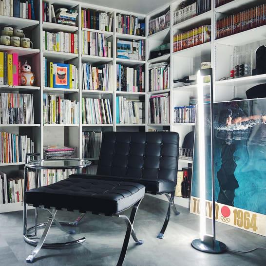 本が多くてもおしゃれに見える本棚の作り方