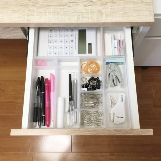 適量&適材適所で探しやすい!使いやすい!文房具のスッキリ収納術