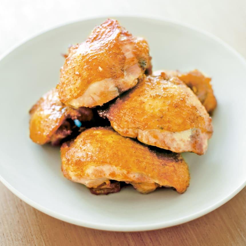 #20 鉄の揚げ鍋で作る、ご飯にもよく合う鶏のから揚げ