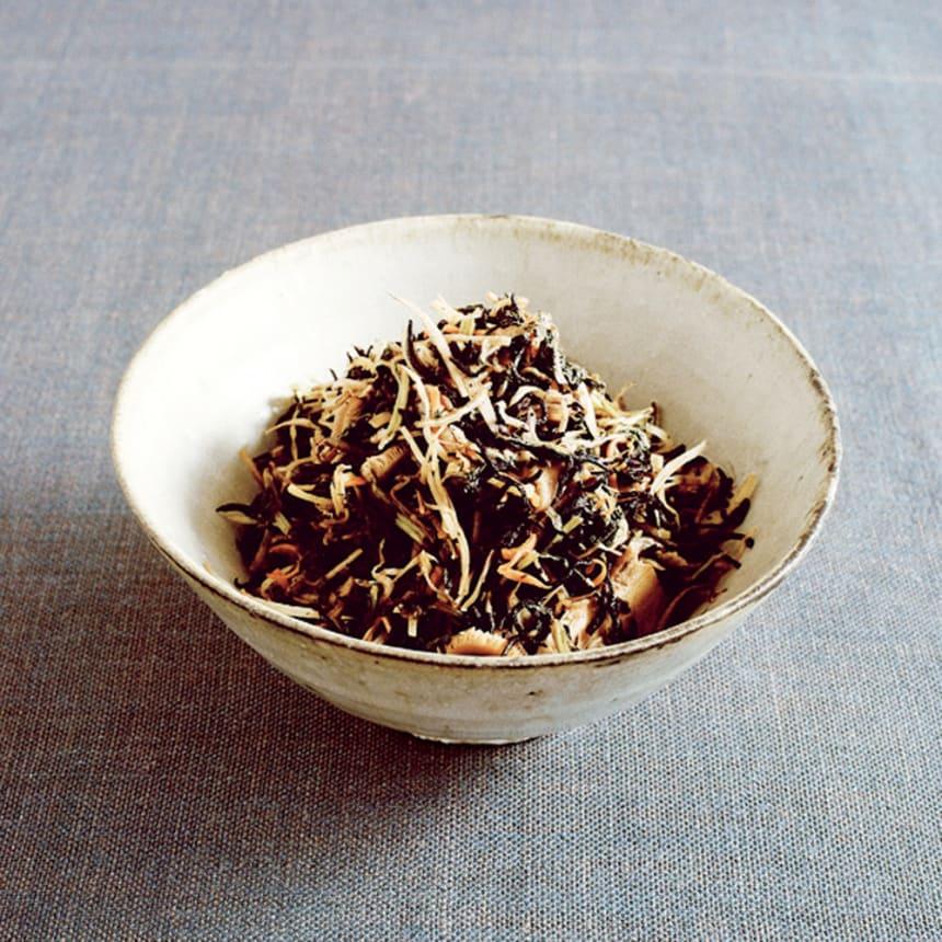 #30 クリステル鍋で作る根菜の皮と乾物のきんぴら