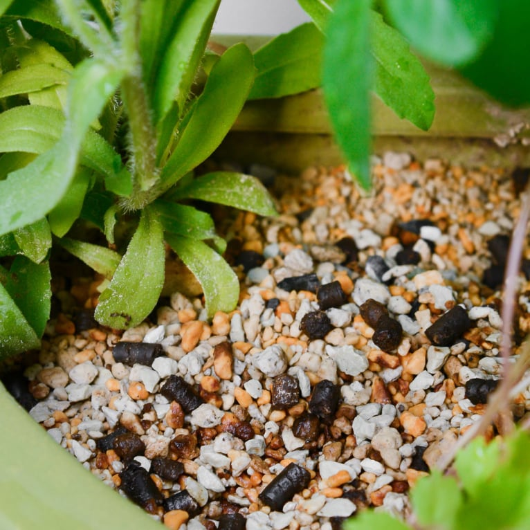 使用時に元肥を別途購入する必要がなく経済的!届いてすぐに使えます。熟成された天然有機肥料の元肥は根に当たっても植物を傷めません。