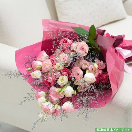 トルコギキョウの花束<br>5500円(税込)