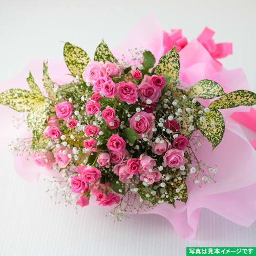 ピンクの優しいブーケ<br>3,300円(税込)