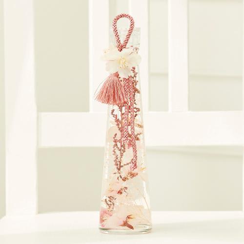 桜のハーバリウム(サーモンピンク)<br>3,300円(税込)