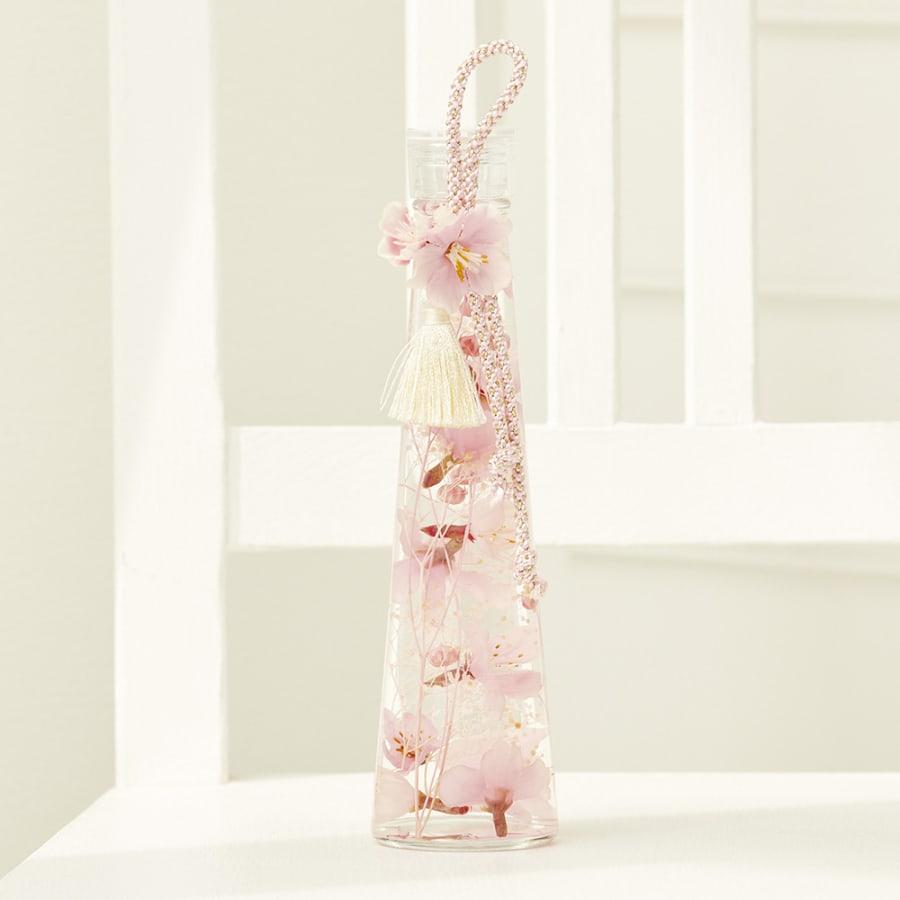 枝垂れ桜のハーバリウム(ピンク)<br>3,300円(税込)