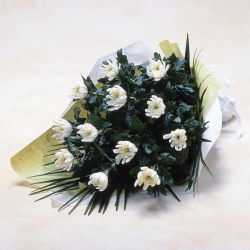 白菊の花束<br>3,300円(税込)