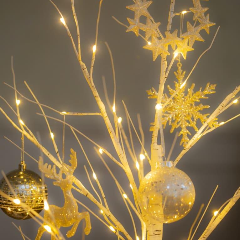ライトアップして大人なクリスマス