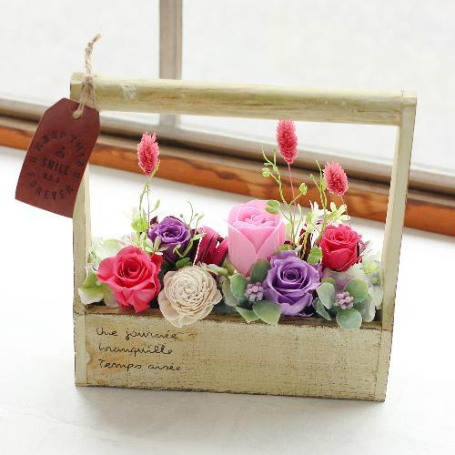 ウェルカムボックス 紫×ピンク系<br> 6,600円(税込)