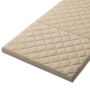 3サイズから選べる!二段ベッド用洗えるカバーの三つ折りマットレス バランスタイプ