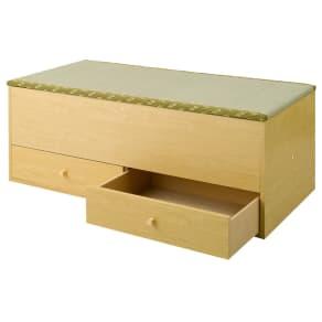 ユニット畳シリーズ 1畳引出し付き 高さ45cm