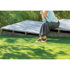 防草シート付きロール芝 2×10m