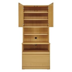 書斎壁面収納シリーズ 収納庫 プリンター収納タイプ 幅78cm