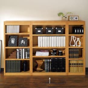 頑丈棚板がっちり書棚(頑丈本棚) ミドルタイプ 幅80cm