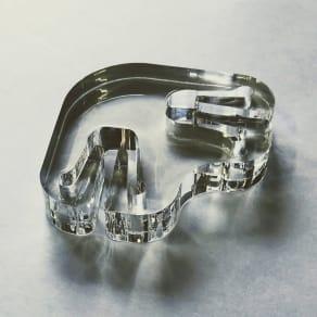 透明ペットゲート コーナー用ジョイントパーツ